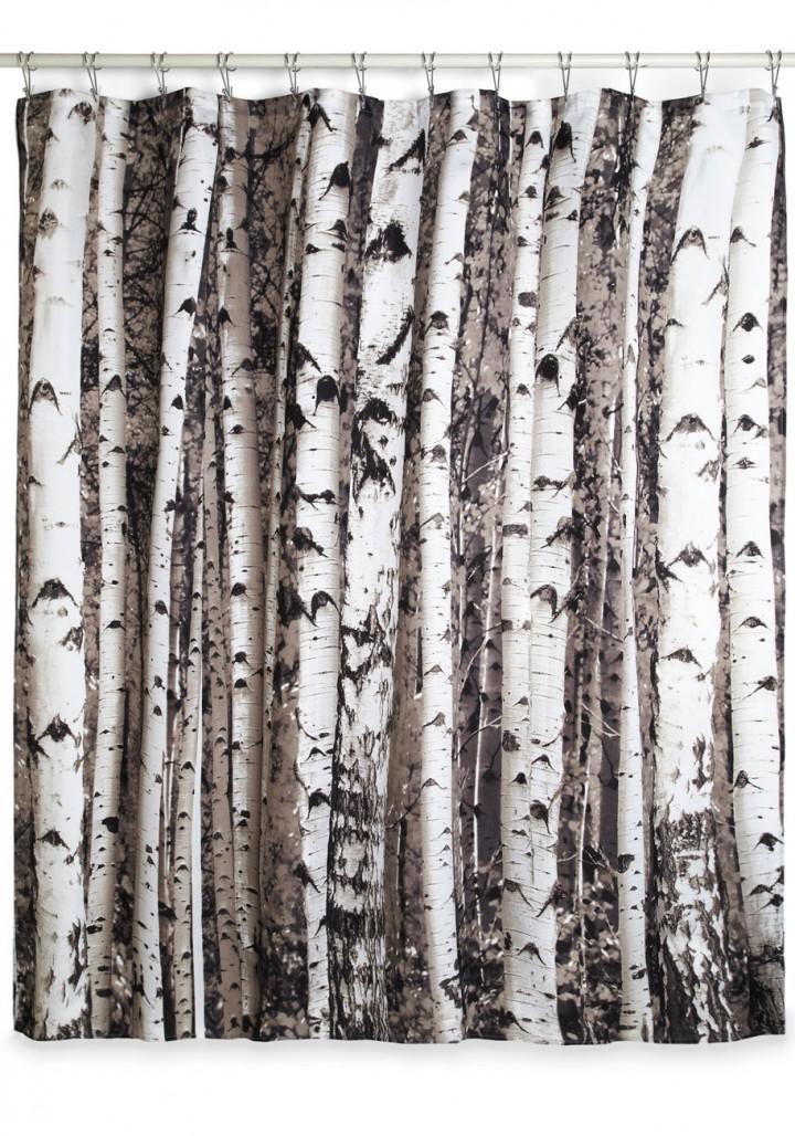 birch-tree-forest-shower-curtain