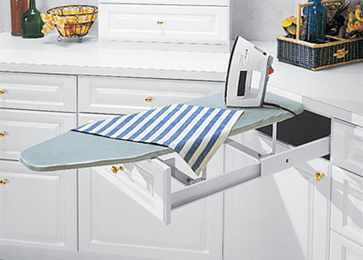 folding ironing board drawer get into my life. Black Bedroom Furniture Sets. Home Design Ideas