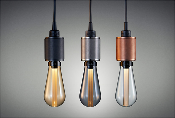 Led designer bulbs by Buster + Punch
