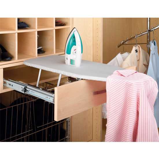 hidden ironing board pops out