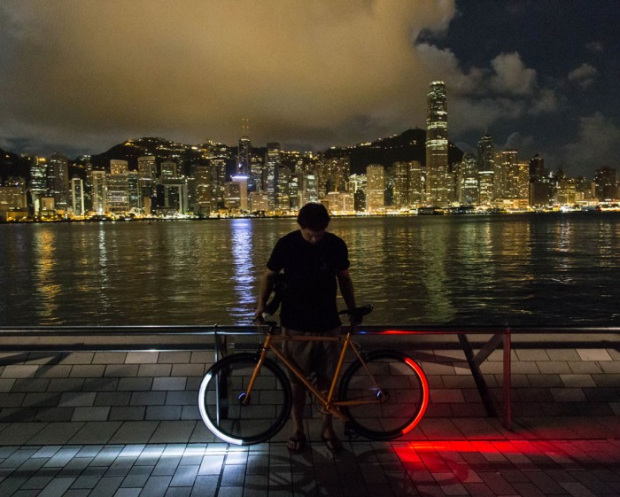 best bike lights for looking like you are tron